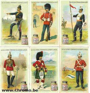 British army uniforms